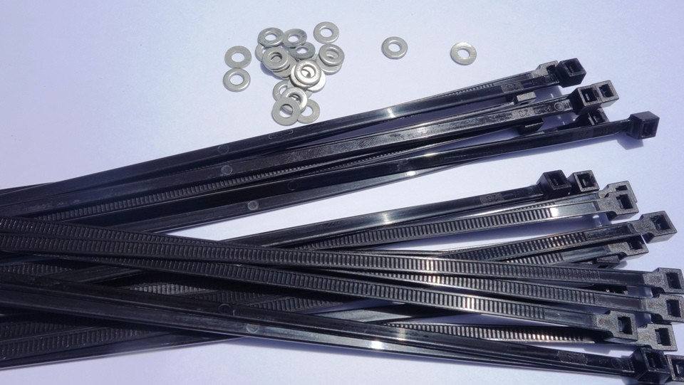 washers & cable ties