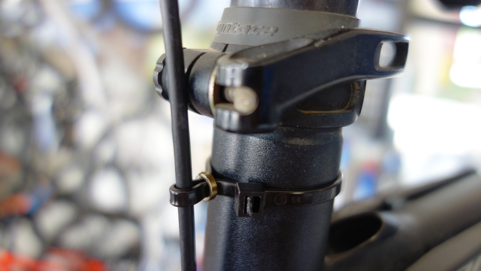 make a remote seat post cable guide