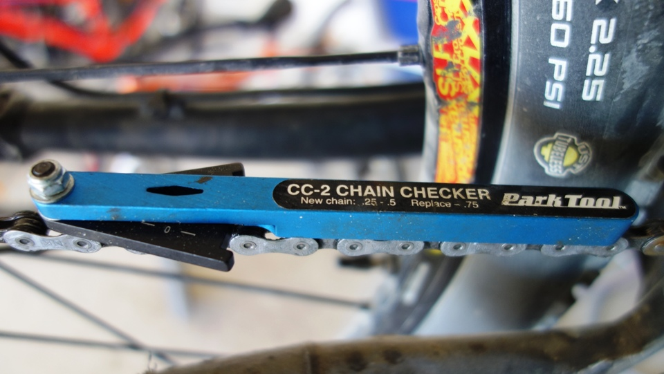 chain wear indicator park tool cc3