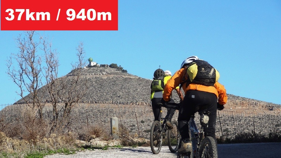 vasilikos mountain bike tour Crete feature image