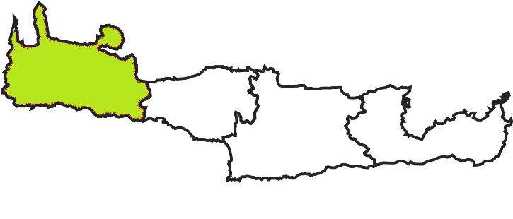 chania perfecture map crete