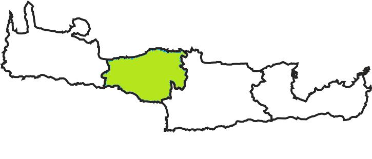 rethymno perfecture crete map