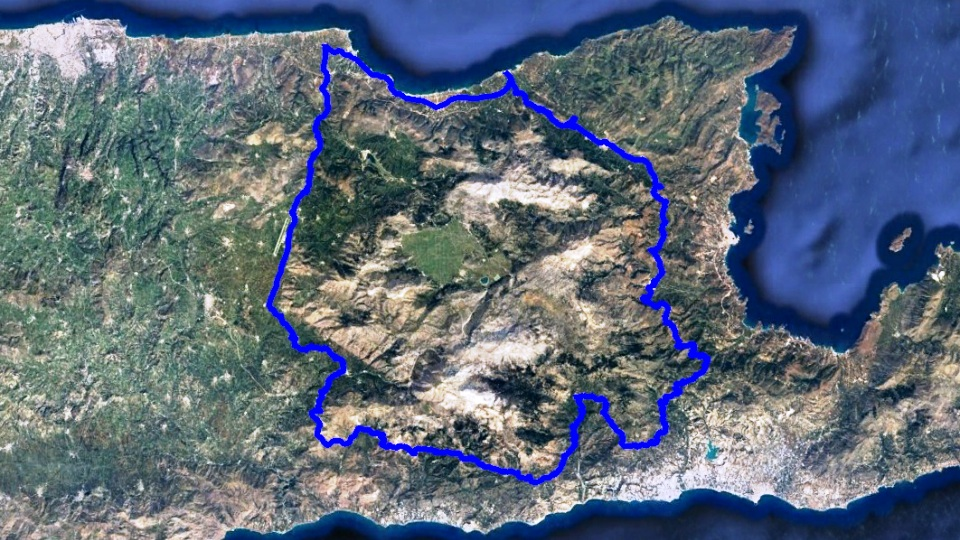 dikti-round-sissi bike tour map