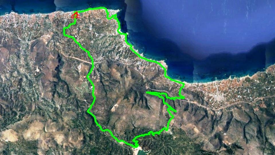 potamies-mochos bike tour map