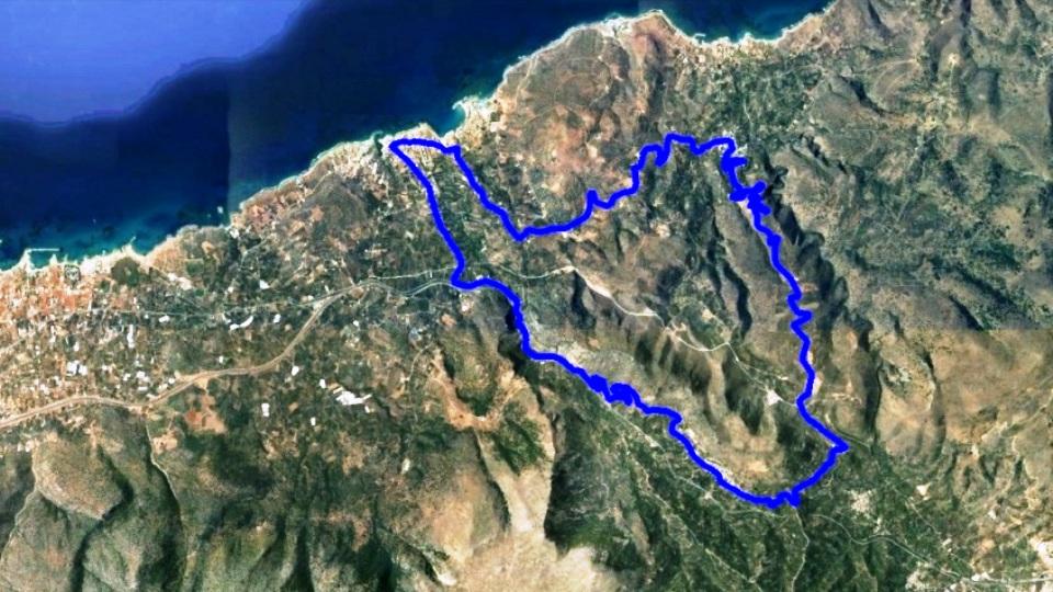 anavlochos bike tour map crete