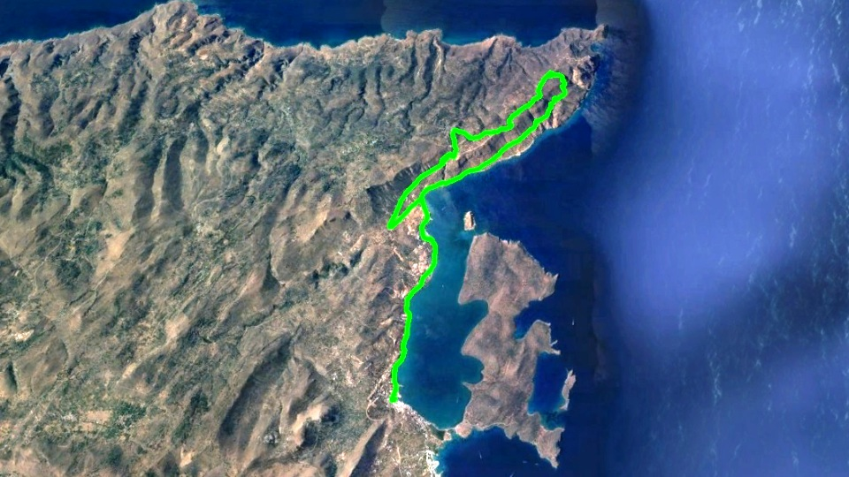 aeolous bike tour map