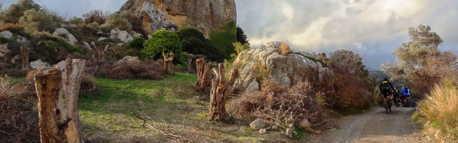 votiros rock at agia varvara