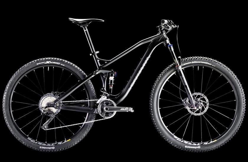 canyon neuron alu full suspension bike 29er