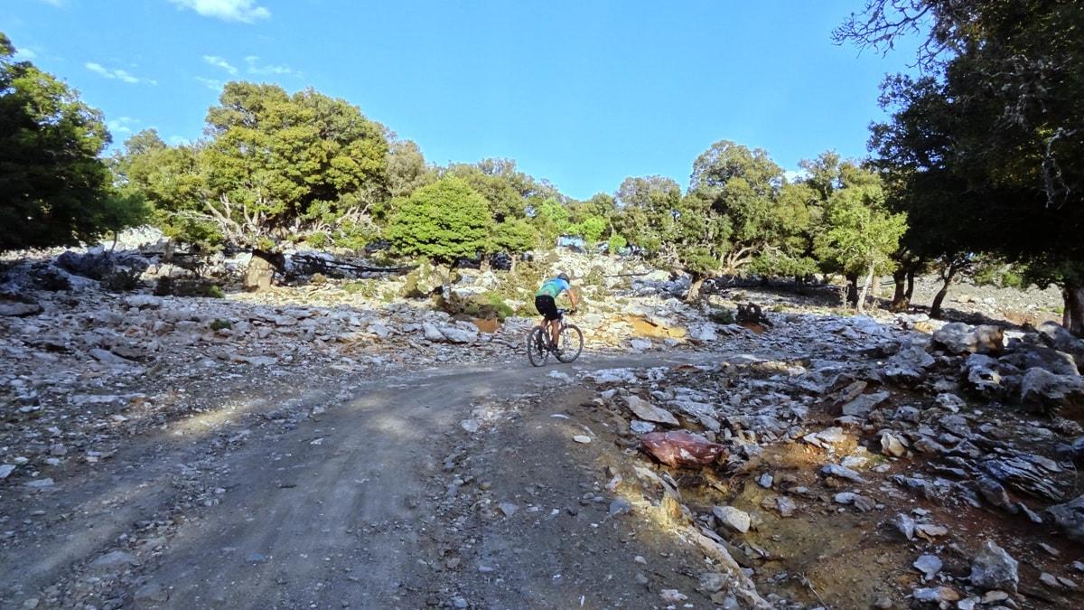 cycling through lapatha plateau crete