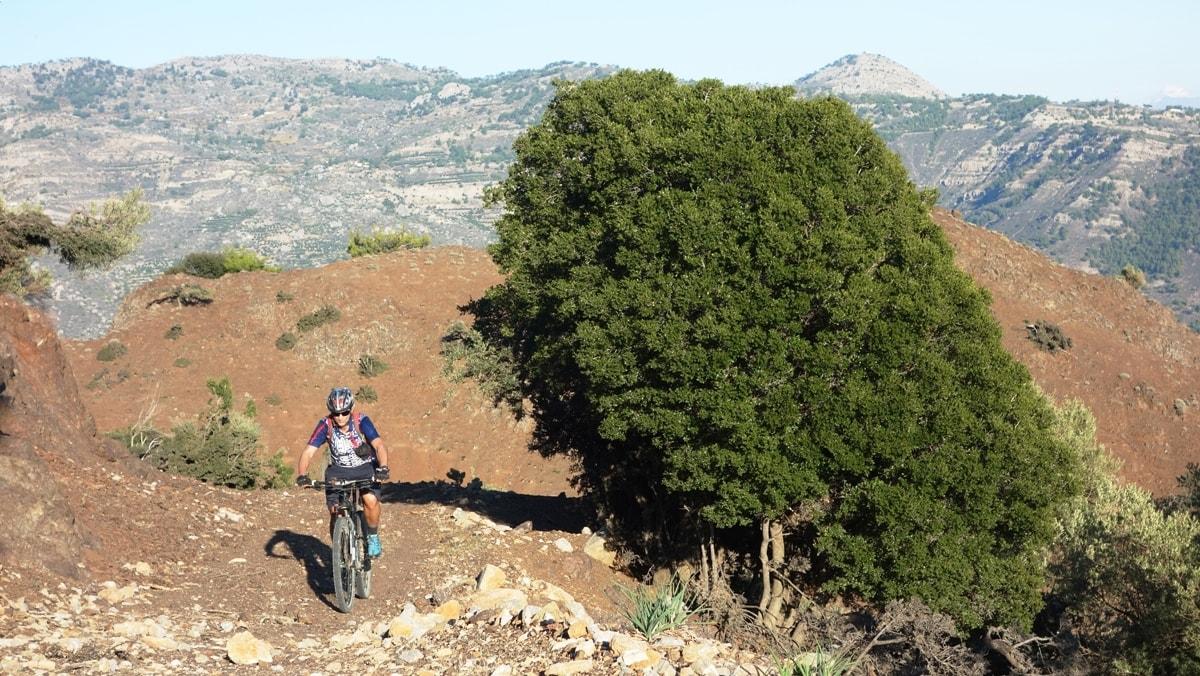 red rocks near ierapetra crete