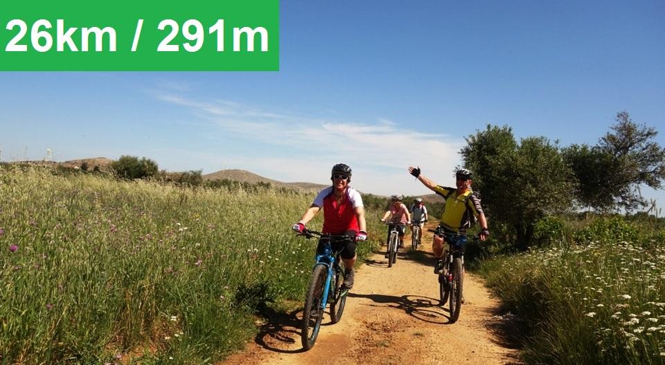 Pediada of Heraklion easy mtb tour cyclingcreta - feature img