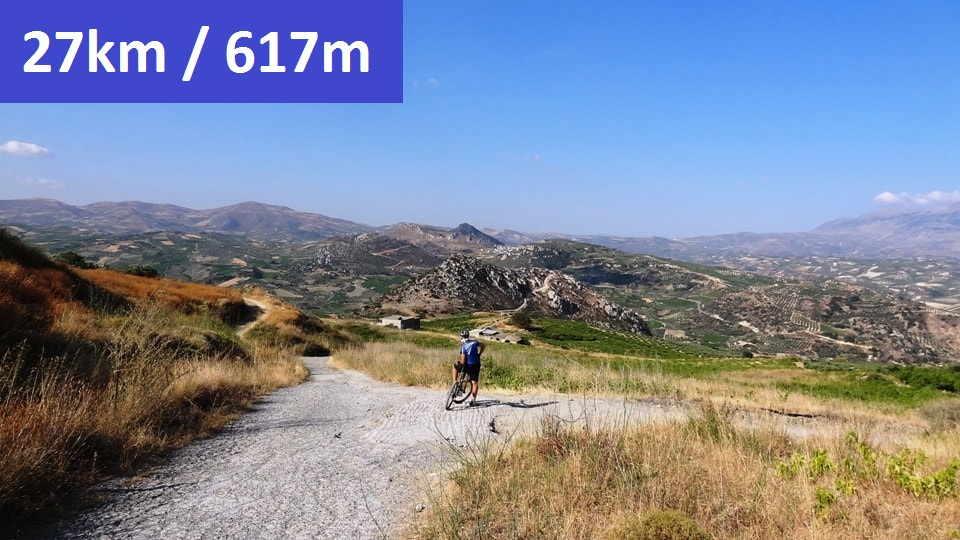 giouchtas giouchtaki mountain bike tour Crete Greece