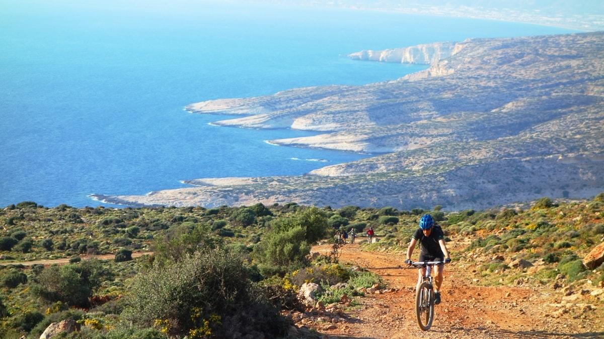 Martsalo kefali mountain near Matala Crete-min