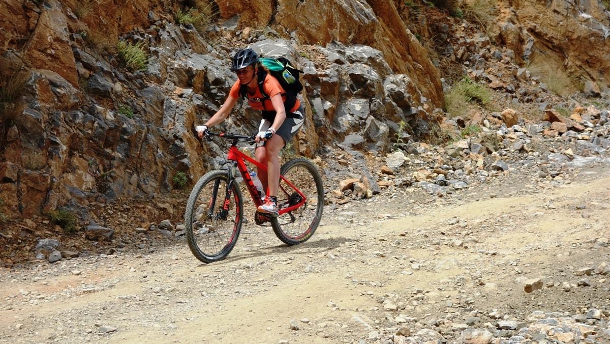 lasithi descent bike tour
