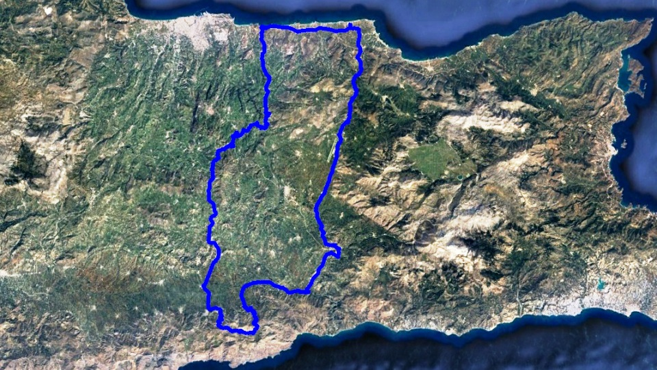 achentrias bike tour map