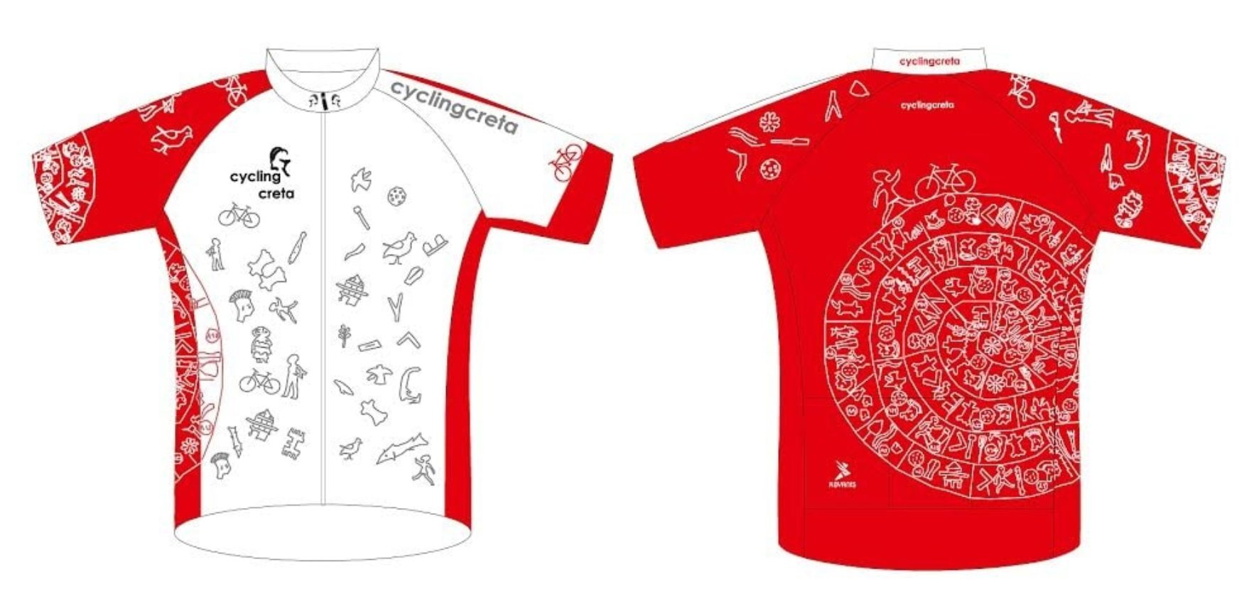 cyclingcreta jersey Festos disc
