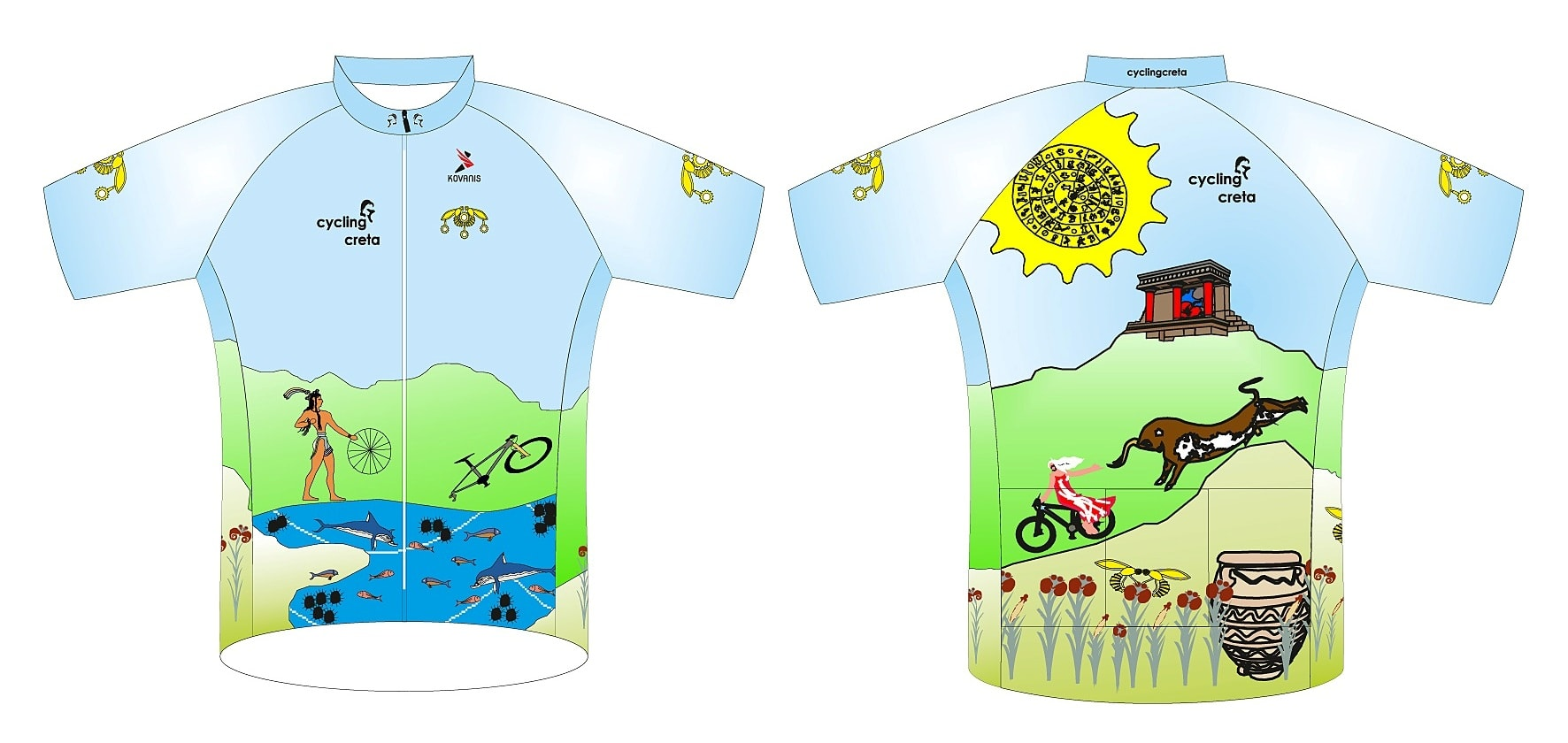 cyclingcreta jersey knossos