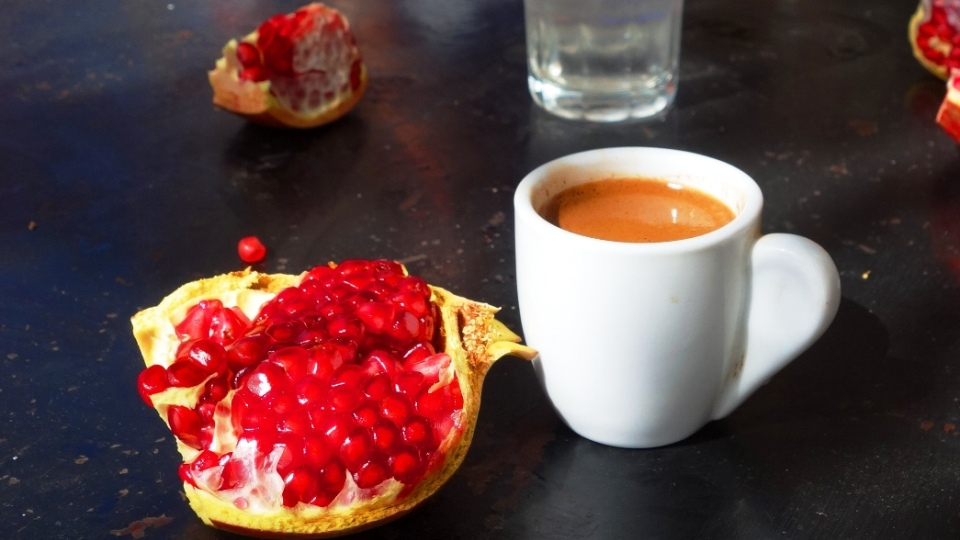 greek-coffee-and-pomegranate-coffee-stop-at-Agio-Georgio-villages-Lasithi-plateau-Cete