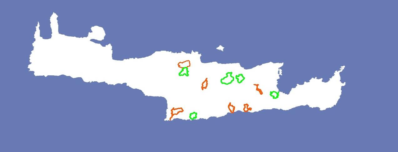 round trips - crete map