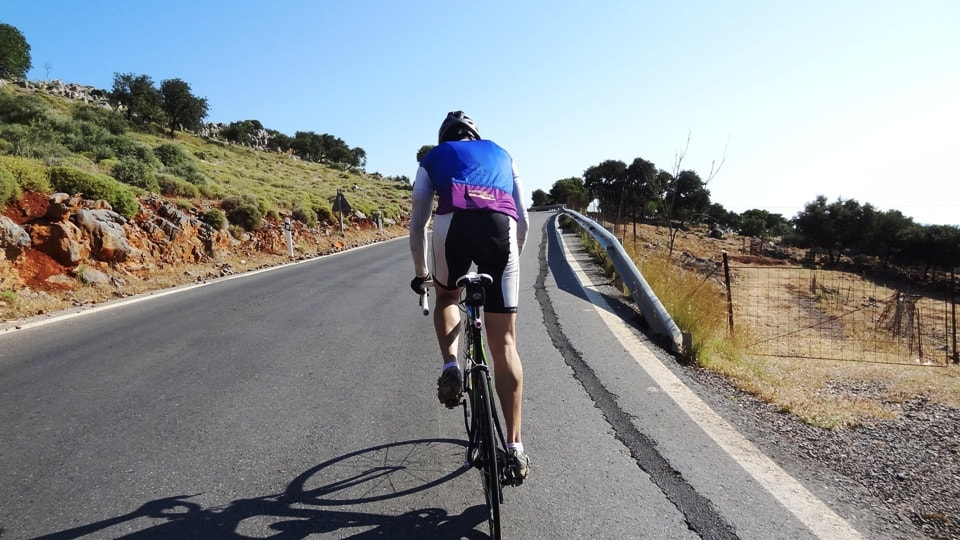 the greatest road bike climbs in crete