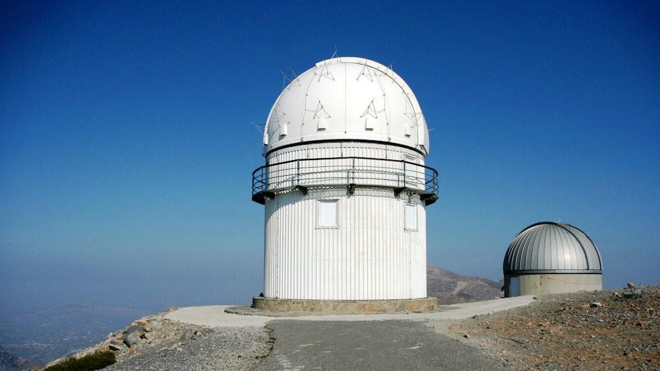 the new observatory of skinakas summit crete