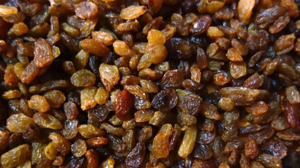 sultanina raisins of Crete the best energy fuel for cyclists