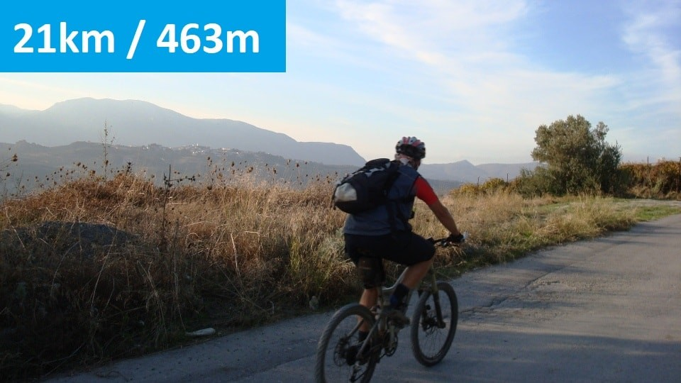 Xerolia mountain bike tour near Heraklion Crete feature