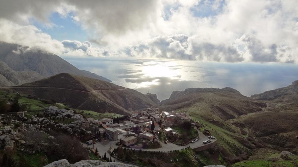 kapetaniana village kapetaniana kofinas koudoumas mountain bike tour Crete Kreta