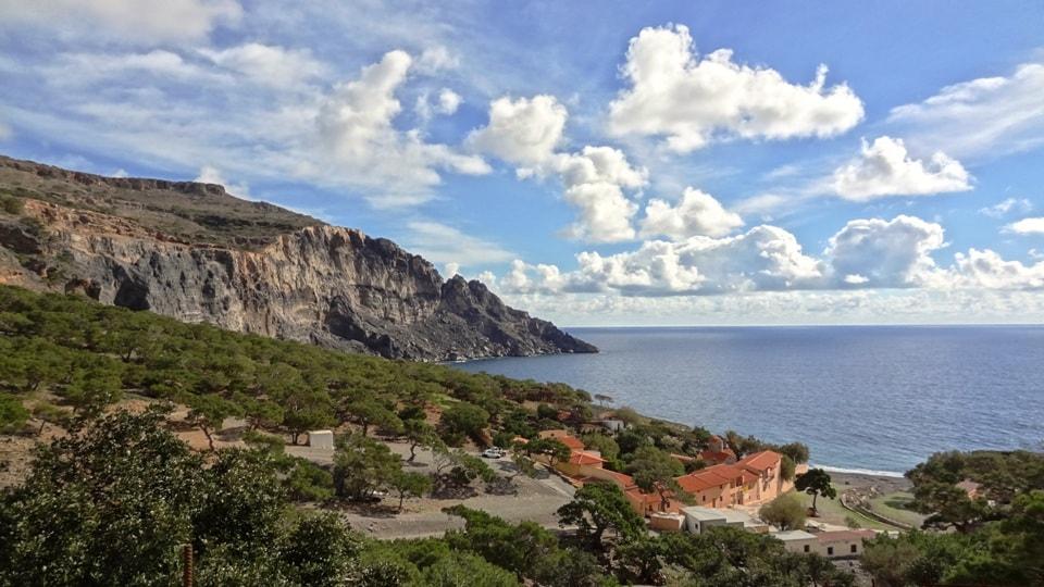 koudoumas monastery kapetaniana kofinas koudoumas mountain bike tour Crete Kreta