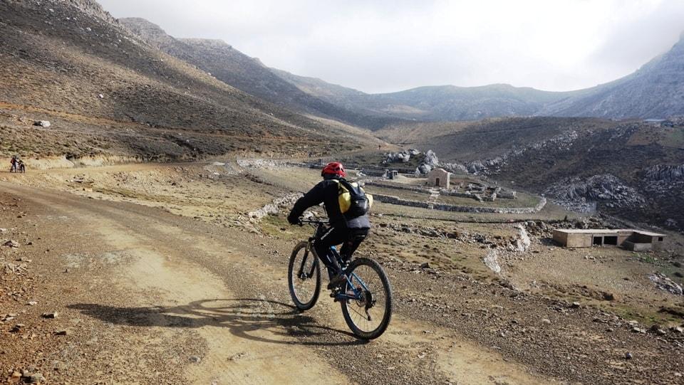 lousoudi kapetaniana kofinas koudoumas mountain bike tour Crete Kreta