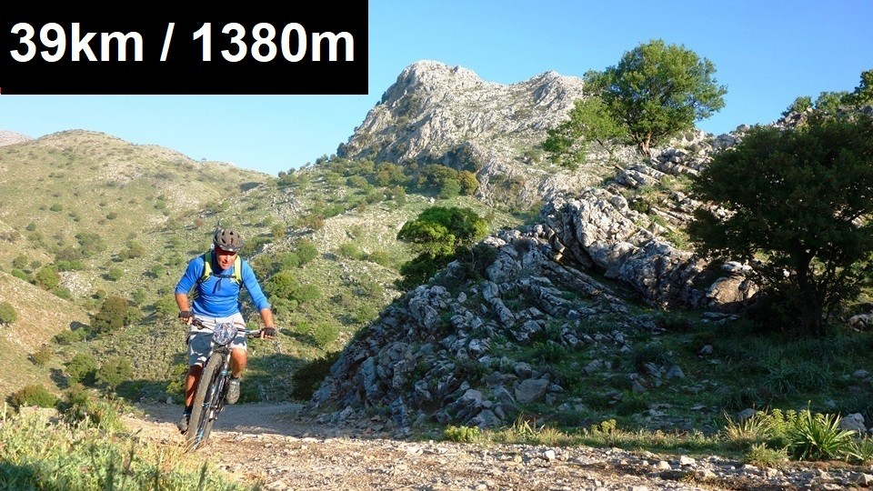 tigania-mountain bike tour rethymno Crete