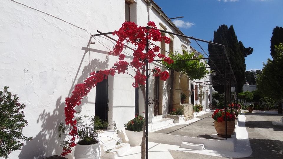agarathos monastery crete island