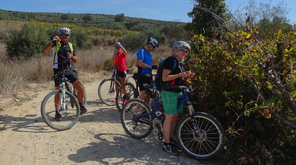 cycling is the best way to explore Crete nature