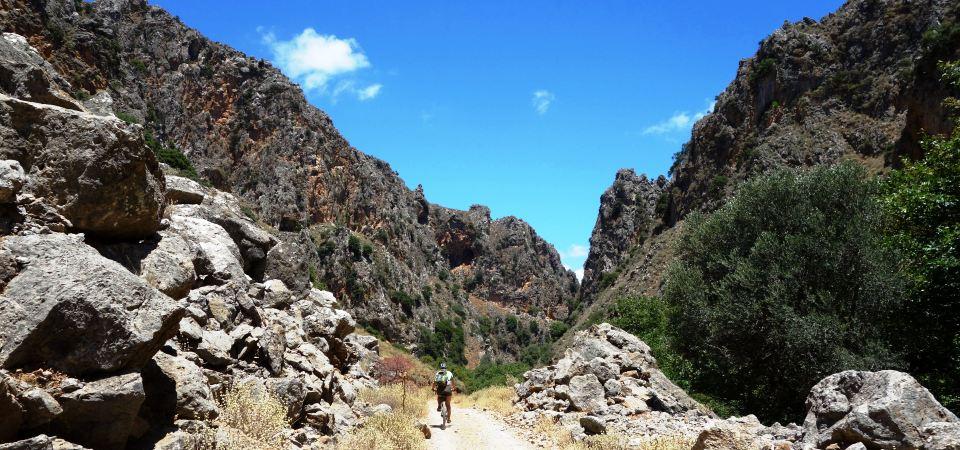 deep canyons of crete deliano