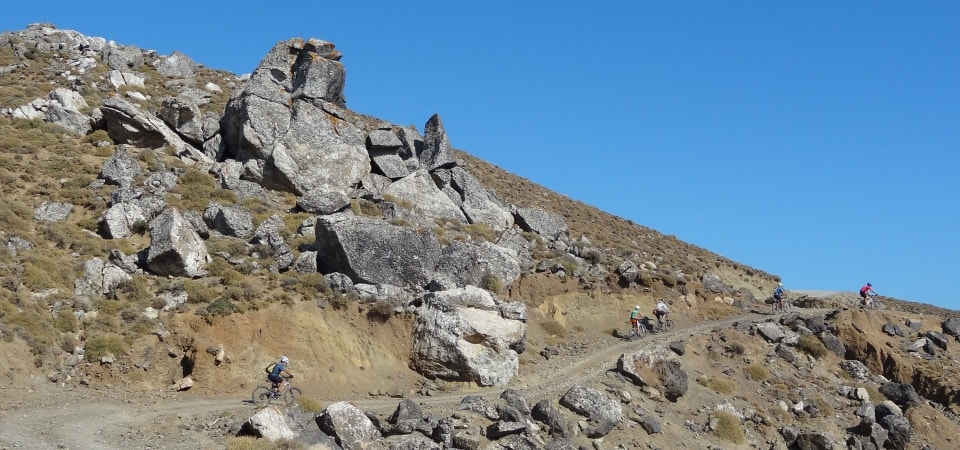 rocks and stones crete