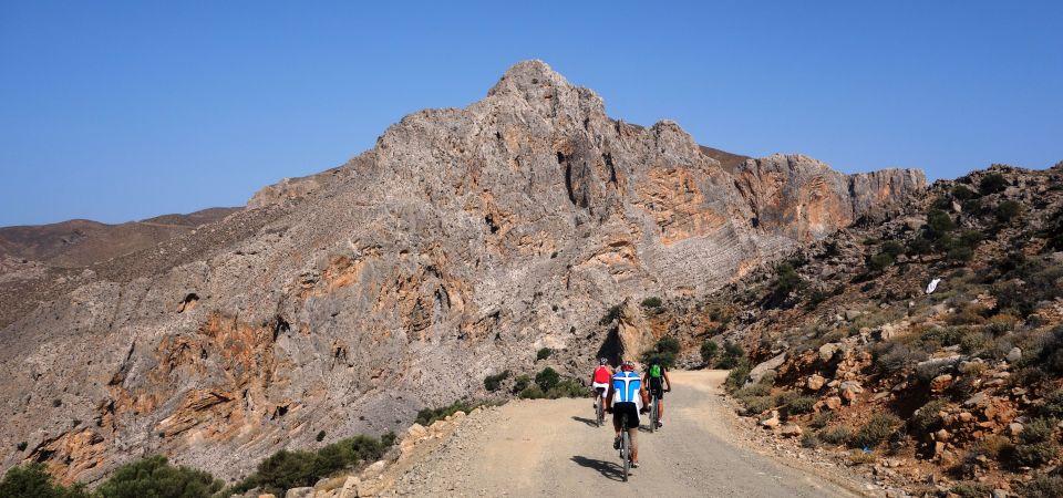 vertical rocks in crete