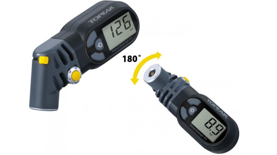 topeak smart head digital gauge cyclicreta strava challenge - double side