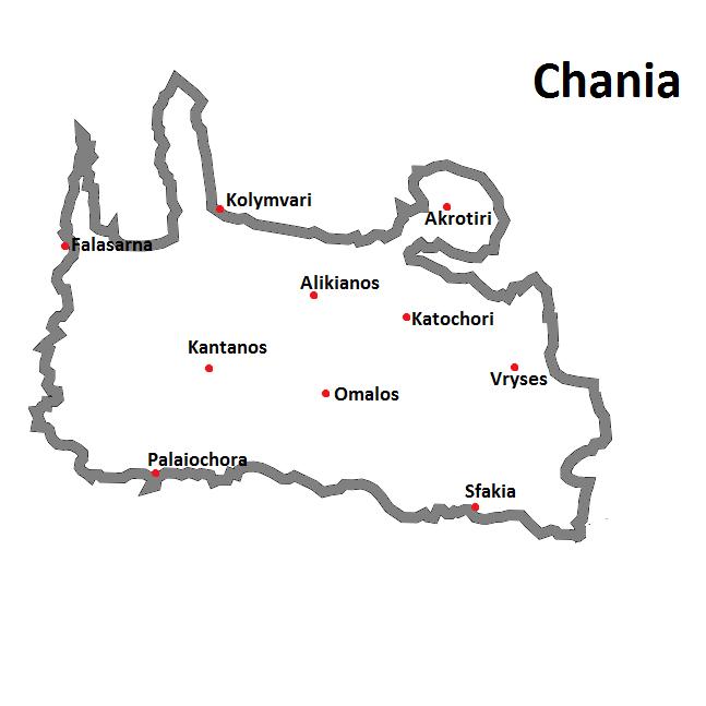 weather- of Crete -chania region