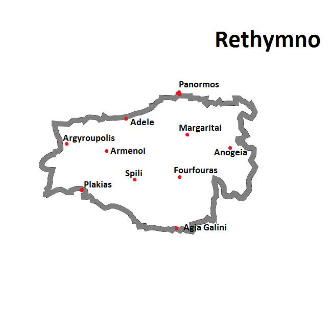 weather- of Crete rethymnon region