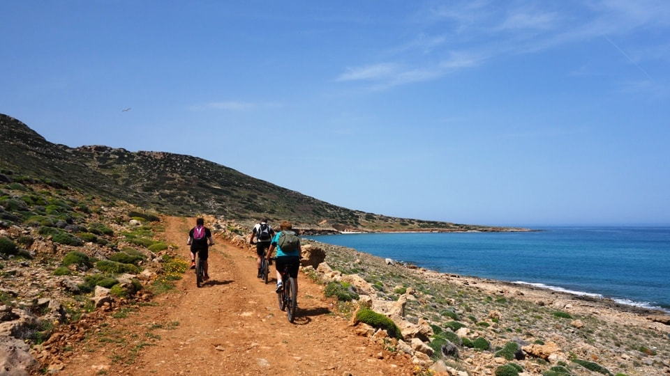ebike tour Crete Elounda Spina Longa