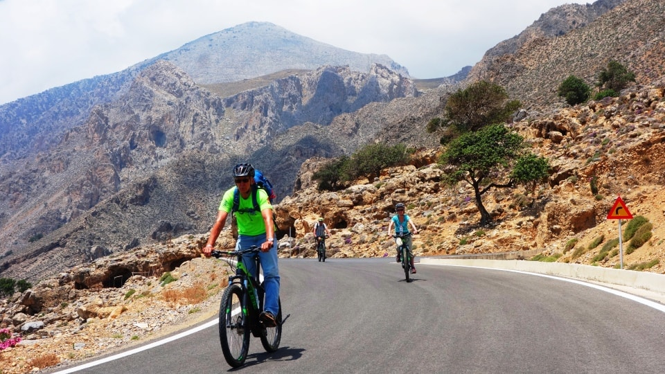 cretanization ebike tour of Crete south