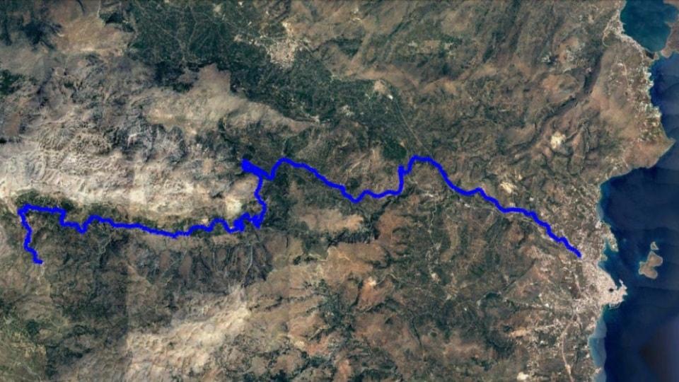 Agios to lasithi plateau climb