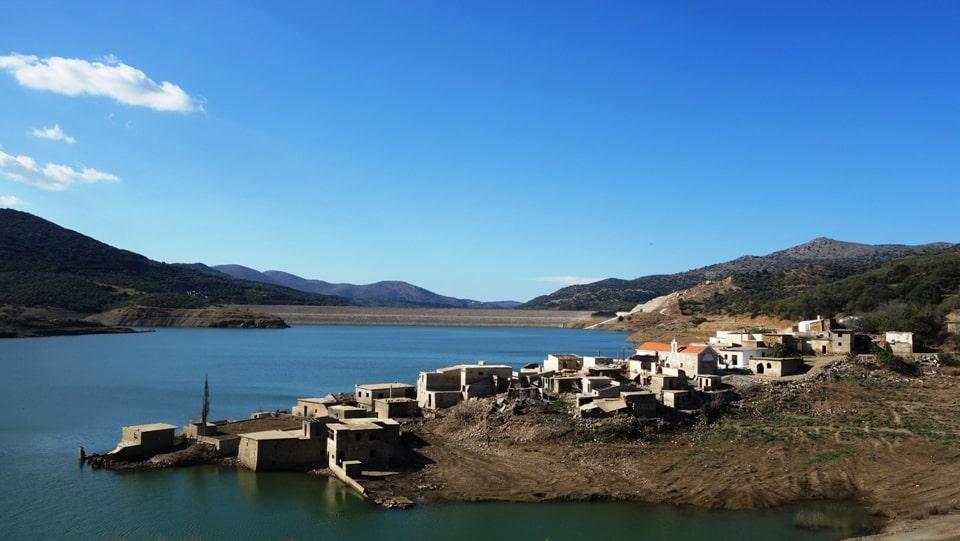 3-11-2016 sfendilli village Crete the new Atlantis of Aposelemis lake-min