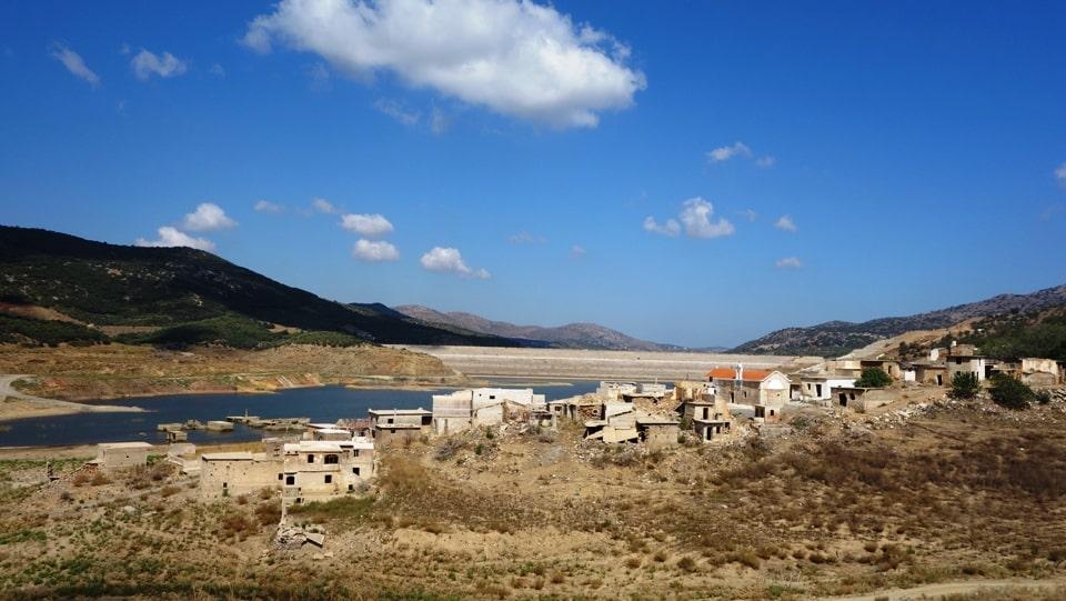 7-8-2018 sfendilli village Crete the new Atlantis of Aposelemis lake-min