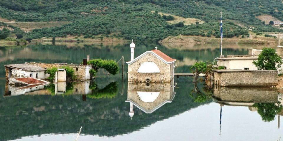 feature img sfendilli village Crete the new Atlantis of Aposelemis lake-min
