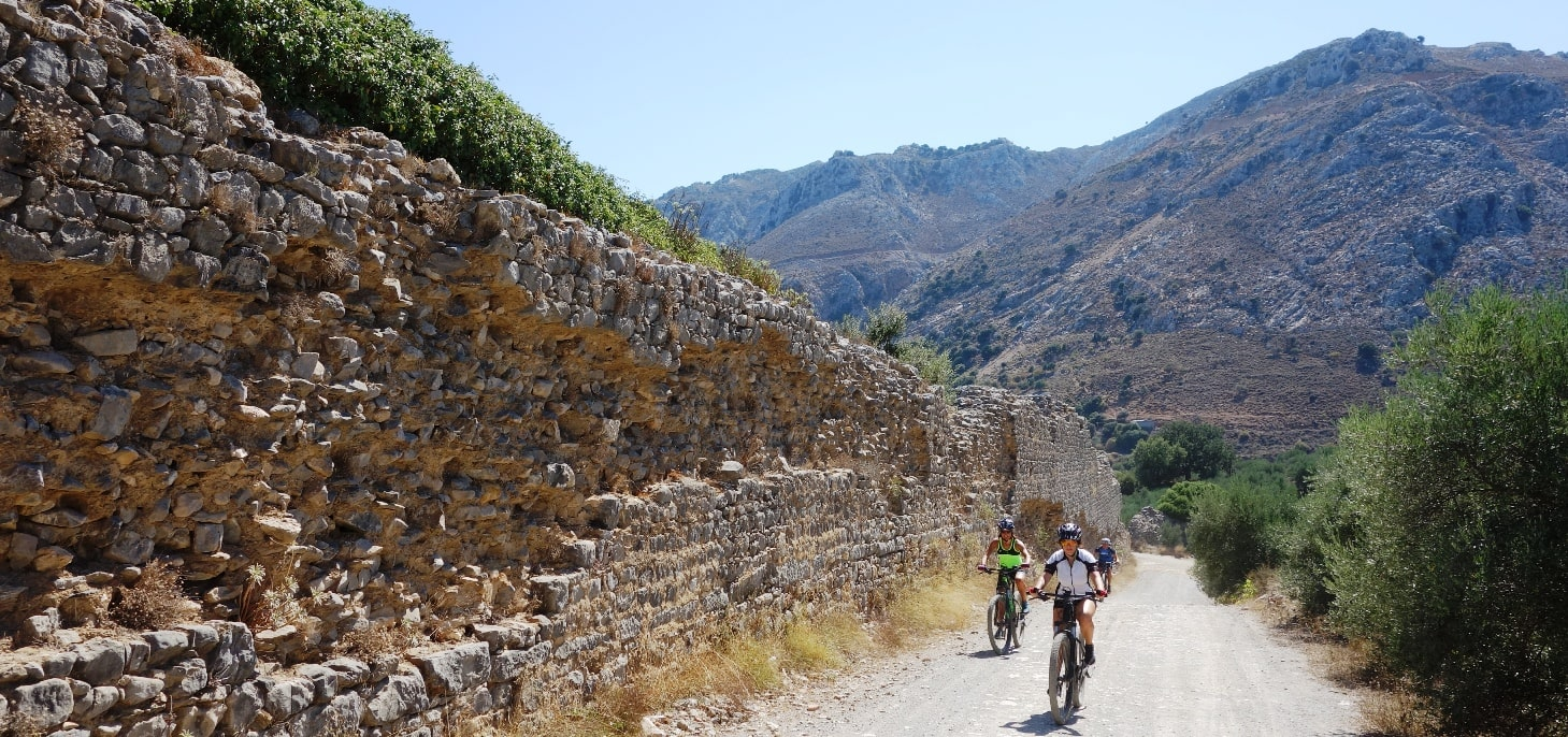damakas ebike tour crete Kreta efahrrad tour kastamonitsa roman aqueduct-min