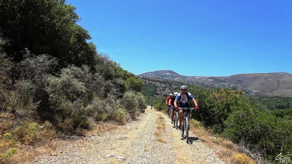 wild forest mesada lasithi panorama the way to the ountain bikes-min