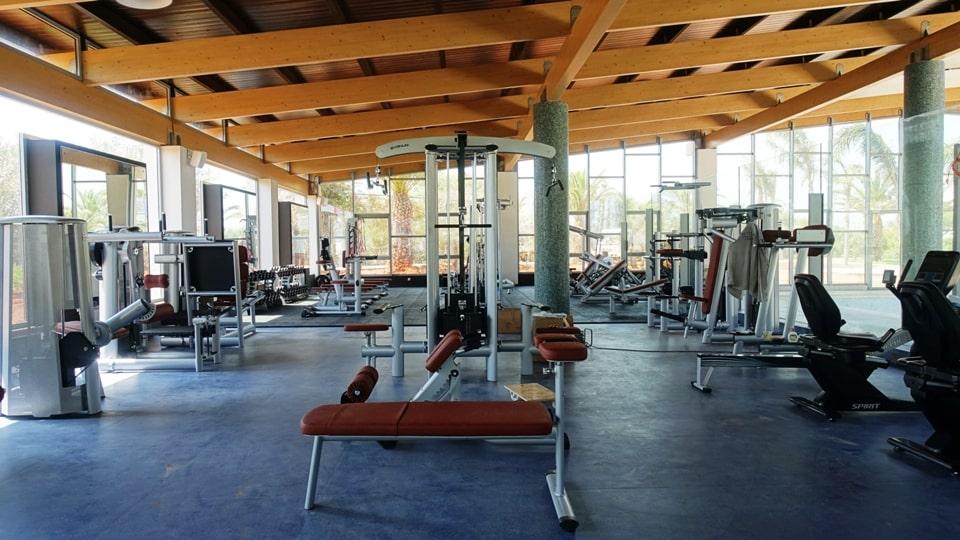 lyttos beach sports hotel Crete Greece Europe cycling bike triathlon tennis spa fully eqiped fitness studio2-min