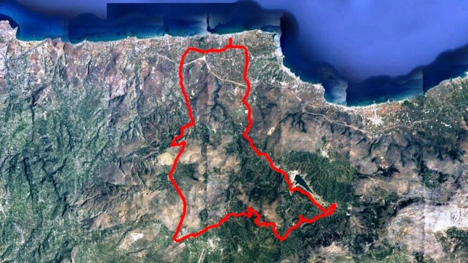 Kasteli Karouzano askoi Avdou lake-min