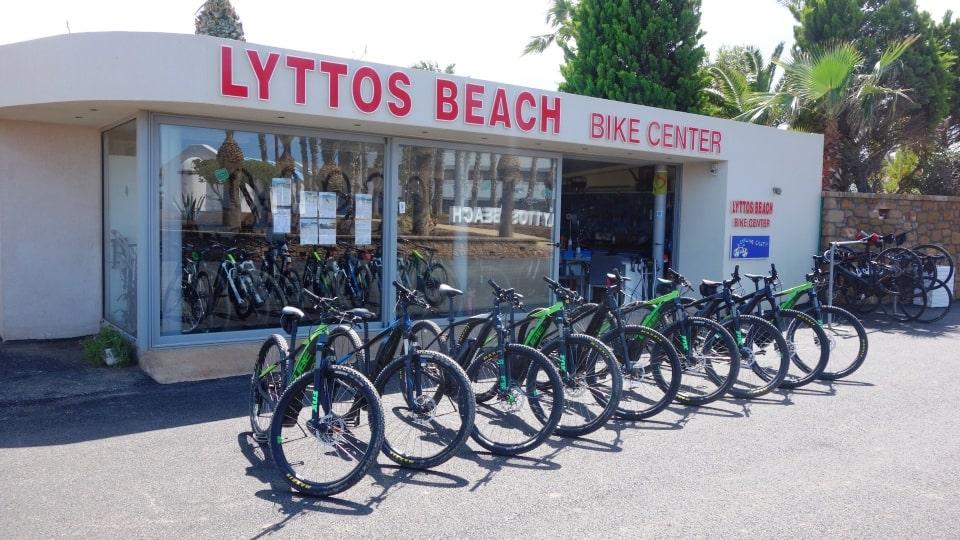lyttos beach sports hotel Crete Greece Europe cycling bike triathlon tennis spa fully eqiped fitness studio bike rental -min
